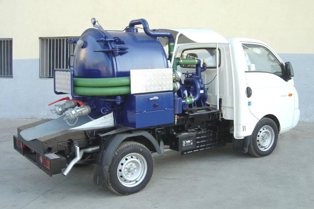 Mini-aspiratrice 800L