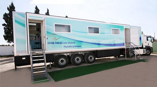 Unité Médicale Mobile Pluridisciplinaire
