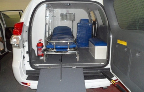 Ambulance - Type Prado 4x4