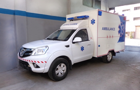 Ambulance Type foton 4x4