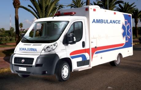 Ambulance Médicalisée Cellule - Type Fiat Ducato