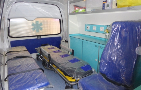 Ambulance Médicalisée sur Fourgon Type Foton