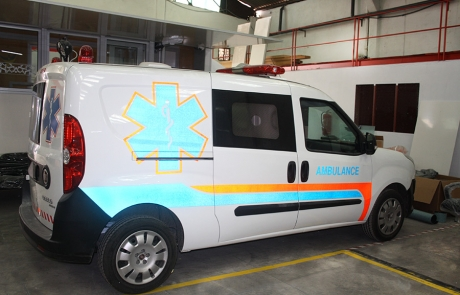 Ambulance Standart -Type Fiat