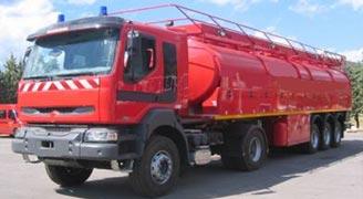Camion Citerne Grande Capacité Articulé