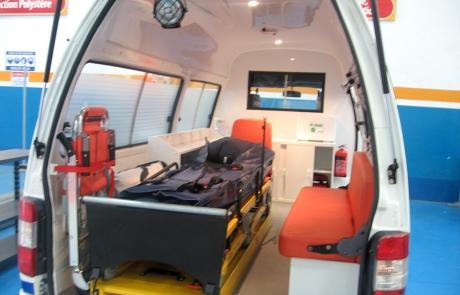 Ambulance Type foton fourgon