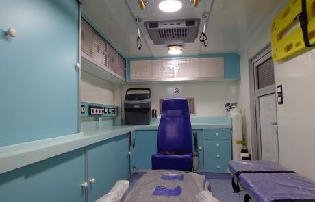 Ambulance Médicalisée Cellule - Type Foton 3,5 T